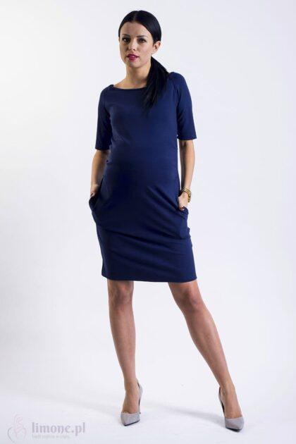 Sukienka ciążowa i do karmienia Megan
