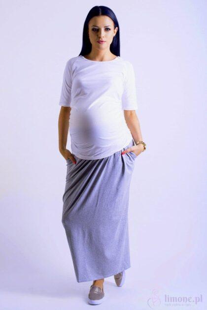 Spódnica ciążowa maxi Nelly