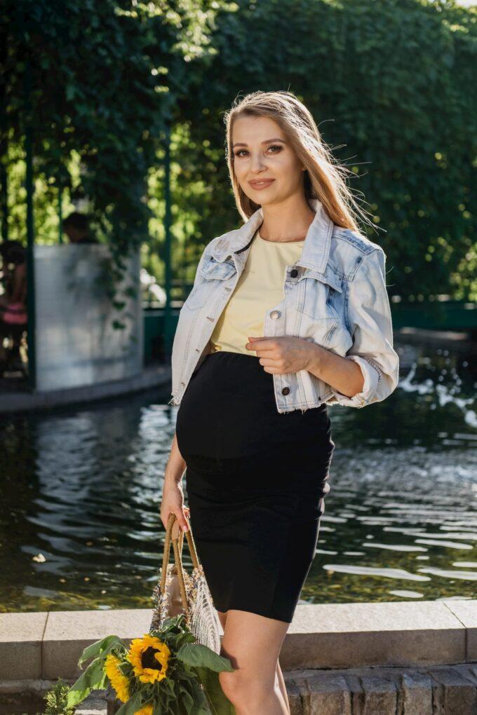 Spódnica ciążowa czarna Emi