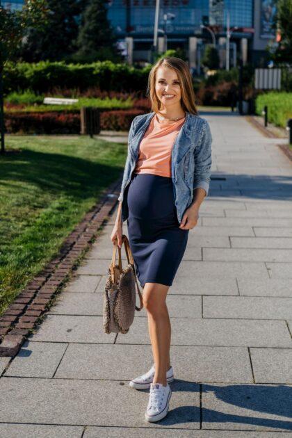 Spódnica ciążowa Emi granat