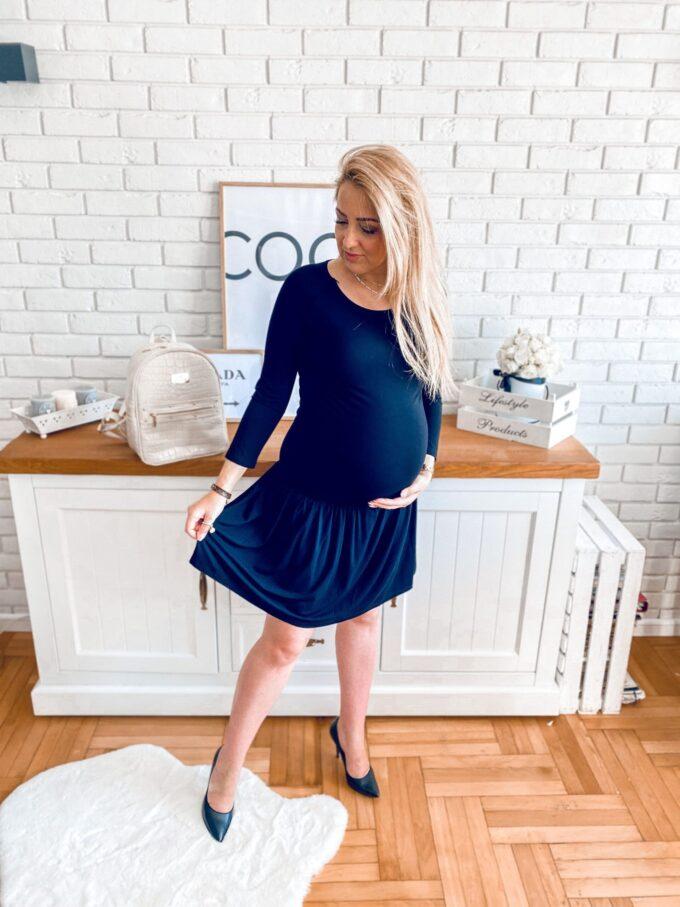 Sukienka ciążowa i do karmienia Hanna