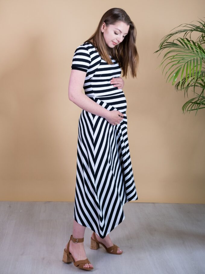 Sukienka ciążowa i do karmienia Eva