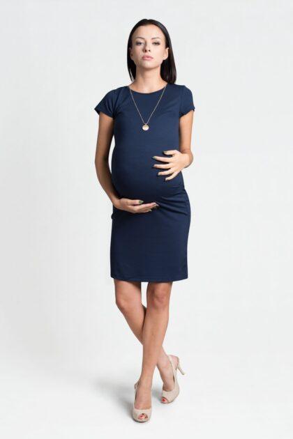 Sukienka ciążowa Julia granat
