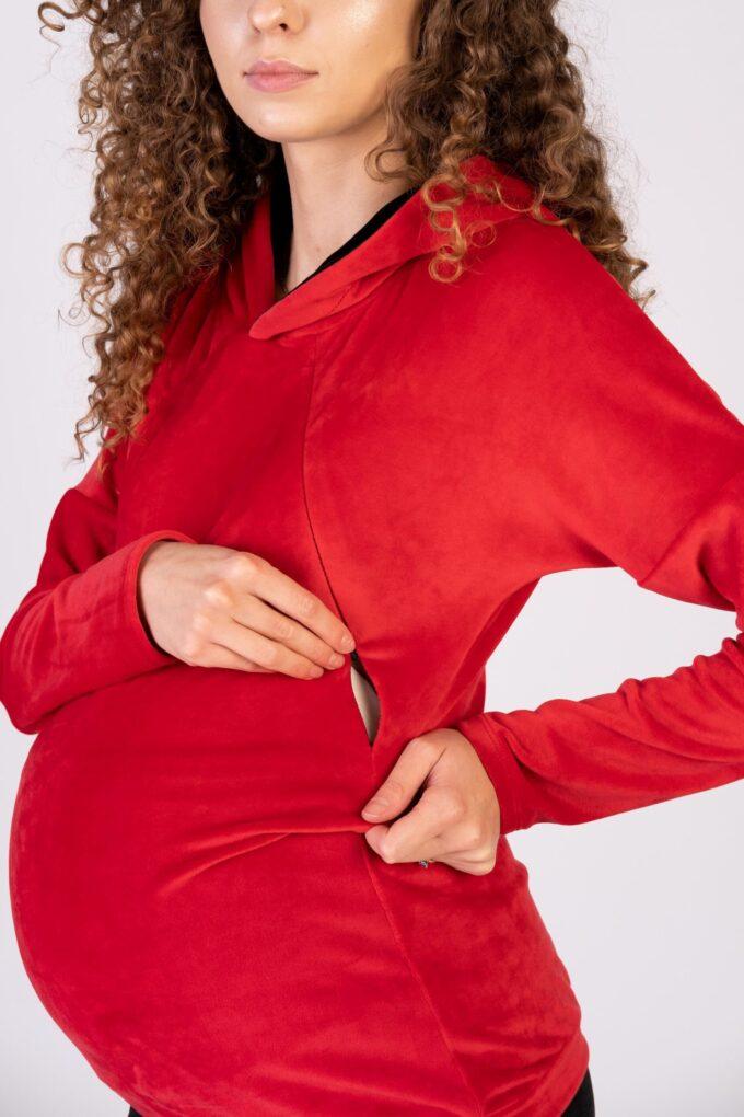 Komplet dresowy ciążowy i do karmienia