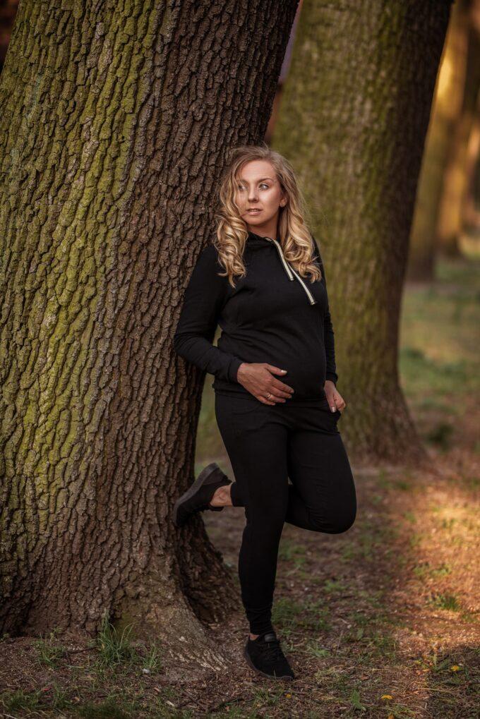 Dres ciążowy Margo czarny