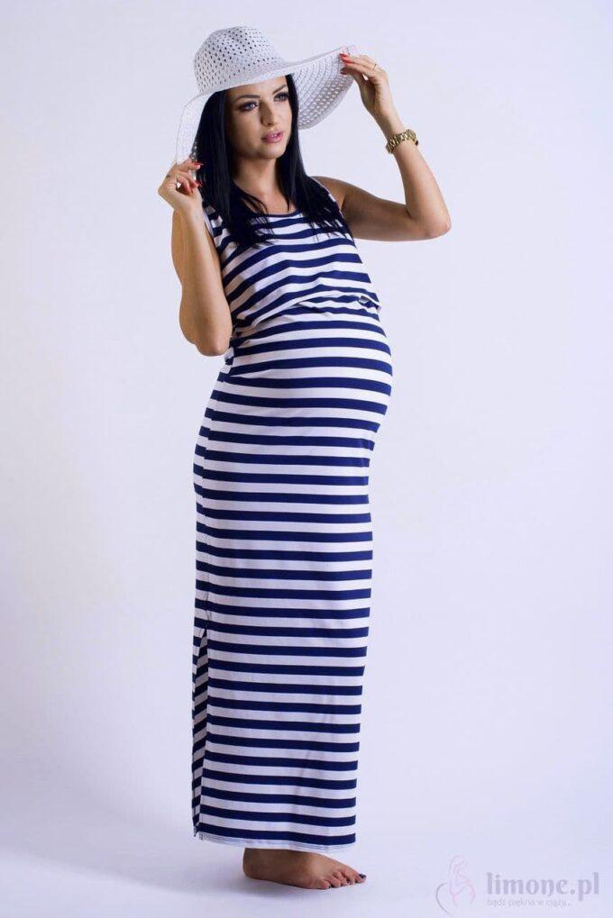 Sukienka ciążowa i do karmienia Mona