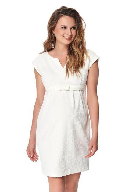 Sukienka ciążowa Fergie krem