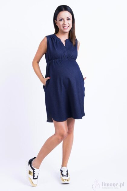Sukienka ciążowa i do karmienia Arletta