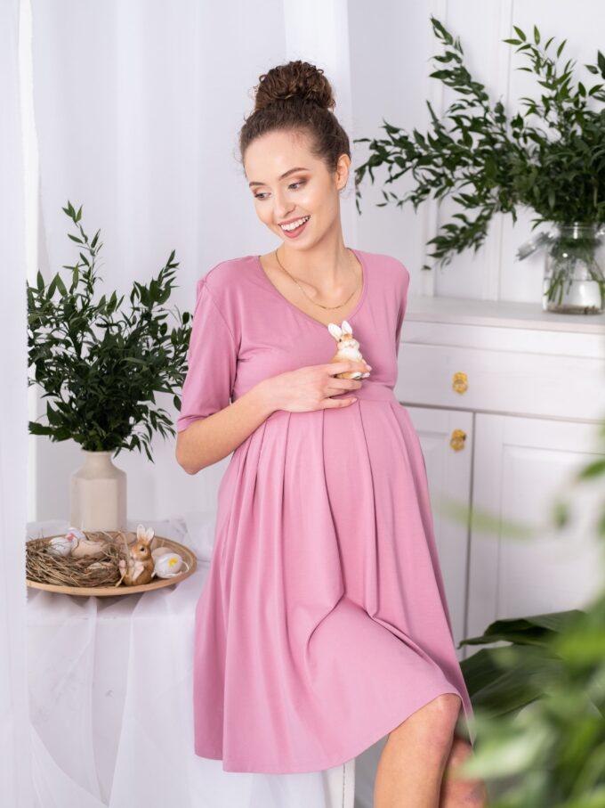 Sukienka ciążowa i do karmienia Balbina
