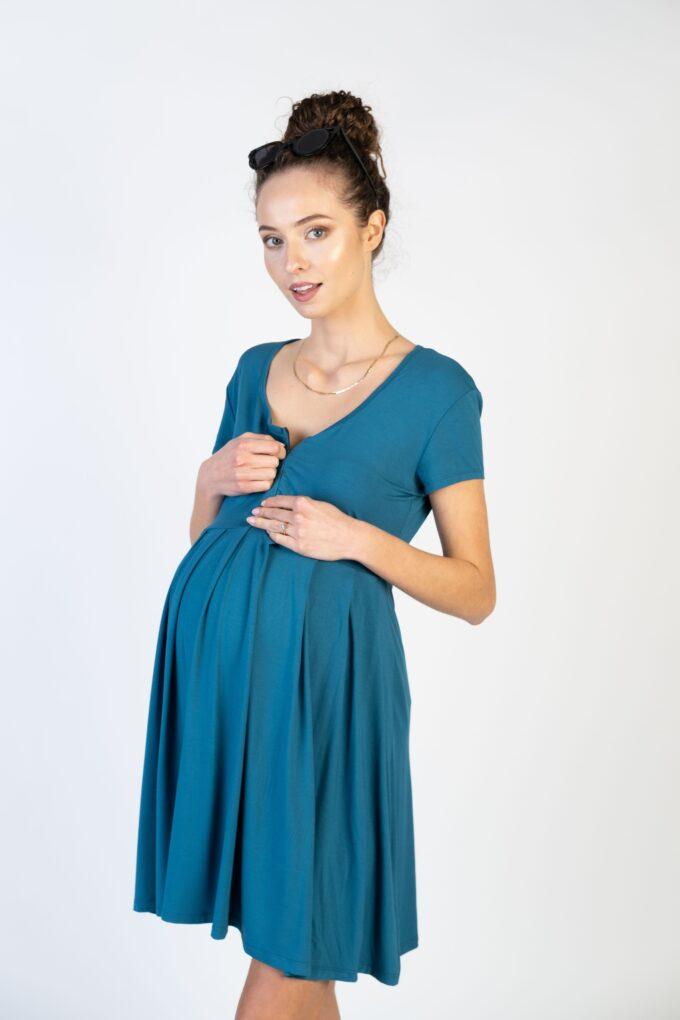 Sukienka ciążowa i do karmienia Ellen