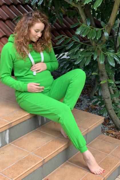 Dres ciążowy Margo zielony