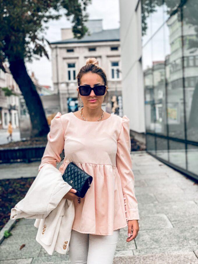 Elegancka bluzka ciążowa Amaya
